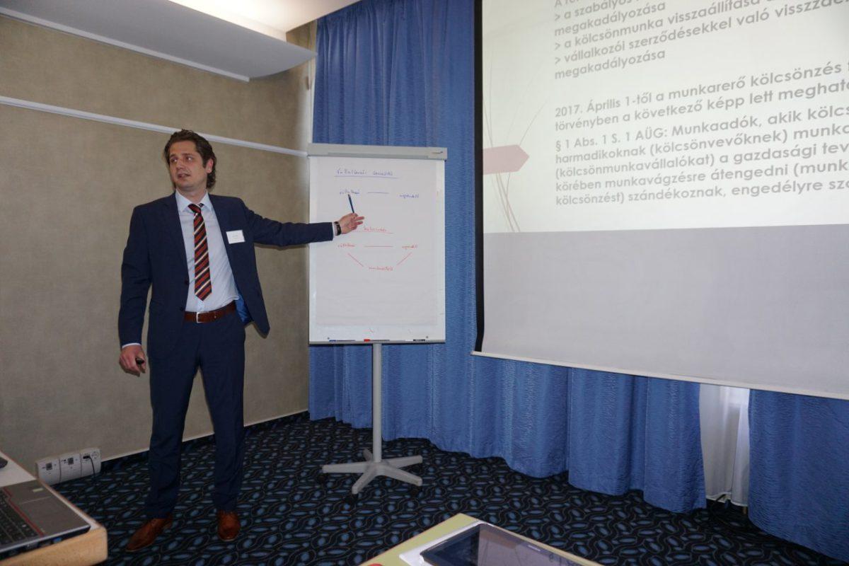 1. Unternehmerstammtisch des Deutsch-Ungarischen Unternehmerclubs in Budapest